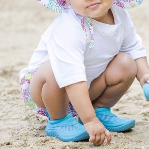 Toddler Blue Mesh Water Shoes
